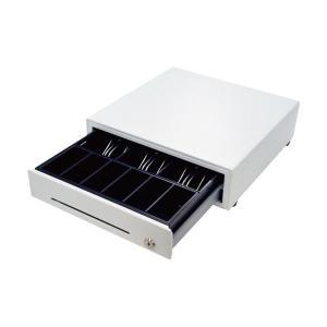 レジスター | ビジコム手動式キャッシュドロア・ミニ(3B6C) ホワイト BCDW330HPW 1台