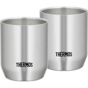 コップ グラス グラス 盃 キッチン 食器 魔法瓶構造で温かさ 冷たさキープ!Thermos カップ...