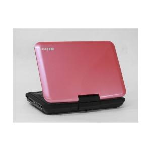 ダイニチ電子 9インチ液晶 ポータブルDVDプレーヤー(ピンク) DVPW920P(2147006)|arinkurin2