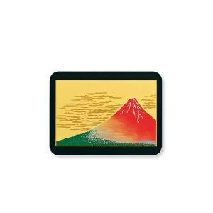 漆芸長角マウスパッド赤富士黒 M166804(2153786)|arinkurin2