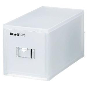 日用雑貨 | CD収納ケース/CDボックス (ホワイト 30枚対応) 幅173mm 引き出し 『吉川...