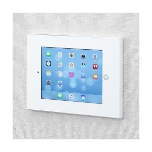 (まとめ)サンワサプライ iPad用VESA対応ボックス CRLAIPAD12W(×2)|arinkurin2