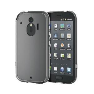 スマホケース | (まとめ)エレコム らくらくスマートフォン meハイブリッドケース極みクリア PDF01LHVCKCR(×5)|arinkurin2