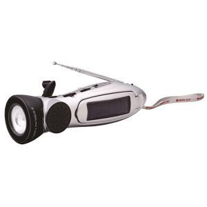スターリングターボ多機能ラジオライト (12個セット) 防災グッズ 4電源式:太陽電池・ACDCアダプター・乾電池・ダイナモ充電