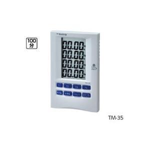 計測器 | 4連多機能タイマー TM35