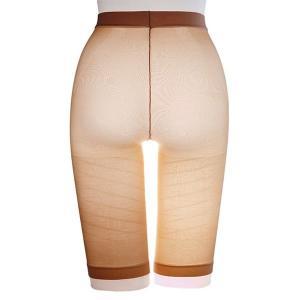 ダイエットウェア   太ももにすき間 極薄ねじりガードル下着 (ベージュ LLL ヒップサイズ92〜105cm) アウターにひびきにくい 日本製 arinkurin2