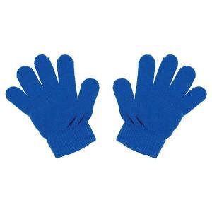 カラーのびのび手袋 コバルトブルー (×10個セット)|arinkurin2