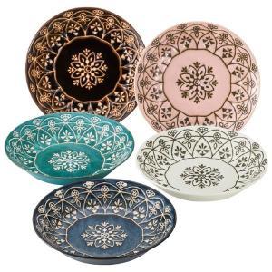 モロッカン パスタ・カレー皿セット(プレート5枚)|arinkurin2