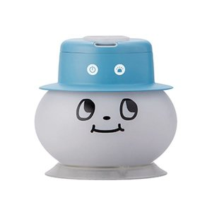 加湿器 | 超音波式ペットボトル加湿器 ブルー 多色LED(色変化・色固定)|arinkurin2