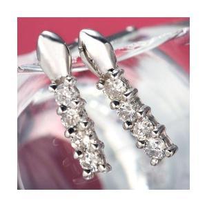 ダイヤモンド | PTダイヤブリンデルピアス プラチナ|arinkurin2