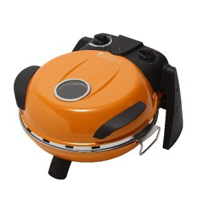 さくさく石窯ピザメーカー/キッチン家電 (オレンジ) 3段階温度調節可 15分タイマー付き FPM160or|arinkurin