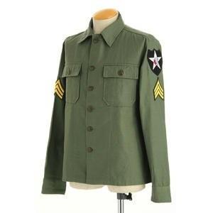 ウェア | ジョンレノンModel 米軍 OG107 ファティーグシャツ 長袖 JS086YNJR 14 1/2サイズ(S)(レプリカ)|arinkurin