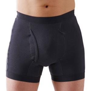 メンズ(男性)アンダーパンツ | 男性用 尿漏れパンツ/下着 3枚組 (Mサイズ) 日本製 吸水量約50cc 速吸水拡散 高吸収 高保水消臭 『サイドシークレット』|arinkurin