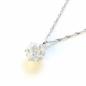 ダイヤモンド   プラチナ0.7ct一粒石ダイヤモンドペンダント arinkurin