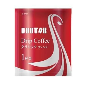 コーヒー   ドトール ドリップコーヒー クラシックブレンド 1箱(50袋) arinkurin