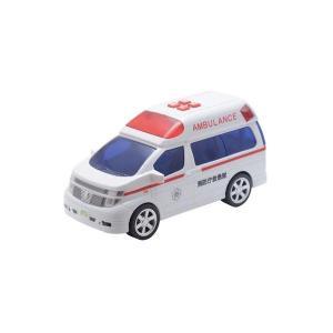 おもちゃ   トイコー ミニサウンド エルグランド救急車 arinkurin