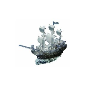 おもちゃ | ビバリー 50141 クリスタルパズル パイレーツシップ ブラック|arinkurin