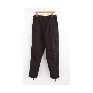 ミリタリーパンツ | アメリカ軍 BDU カーゴパンツ/迷彩服パンツ (XSサイズ) YN521007 ブラック(黒) (レプリカ)|arinkurin