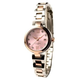レディース(女性) | Forever(フォーエバー) 腕時計 デイト付き FL12012 ピンク×シルバー|arinkurin