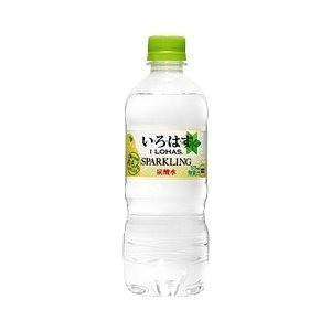 炭酸飲料 | (まとめ買い)コカ・コーラ い・ろ・は・す(いろはすI LOHAS) スパークリングれもん 515ml×24本(1ケース) ペットボトル|arinkurin