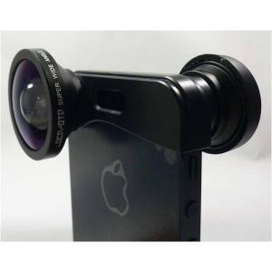 ルーメン iPhone5/5s専用3in1レンズ ブラック LMFMSW arinkurin