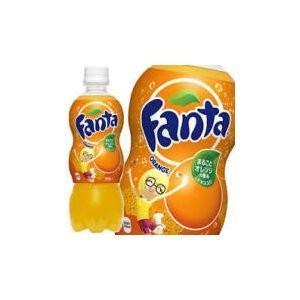 炭酸飲料 | (まとめ買い)コカ・コーラ ファンタ オレンジ ペットボトル 500ml×24本(1ケース)|arinkurin