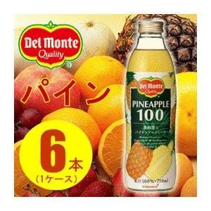 パイナップル | (まとめ買い)デルモンテ パイナップルジュース 瓶 750ml×6本(1ケース)|arinkurin