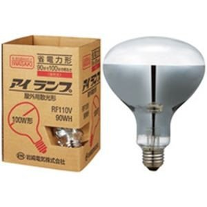 電球 | 屋外投光用アイランプ 100W形 RF110V90WH|arinkurin