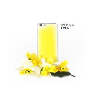 スマホケース   セブンシーズ・パスタ iPhone6用香り付き保護ケース Aroma(アロマ) case Floral fruity Yellow ACFY arinkurin
