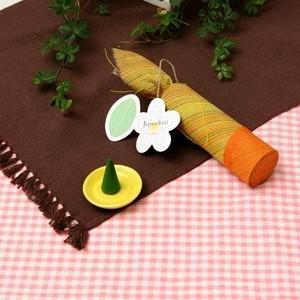 お香 | お香/インセンス (フランジパニの香り コーンタイプ10個入り) バリ島製 「Jupen Bari/ジュプンバリ」|arinkurin