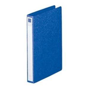 LIHITLAB リング式ファイル (A42穴) タテ型 10冊入り 背幅:35mm F803 藍 arinkurin