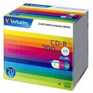 三菱化学メディア CD-R 〔700MB〕 SR80SP20...