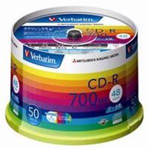 三菱化学メディア CD-R 〔700MB〕 SR80SP50...