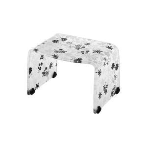 バスチェアー(お風呂椅子) Mサイズ スベリ止め付き RSB403BKF|arinkurin