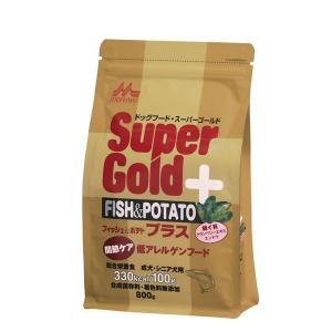 ドッグフード | 森乳サンワールド スーパーゴールド フィッシュ&ポテトプラス 関節ケア 800g(ペット用品)|arinkurin