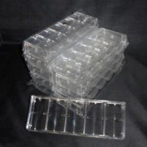 パーティグッズ | チップラック(100枚収納・アクリル製)10個セット|arinkurin