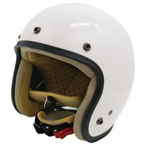 ダムトラックス(DAMMTRAX) ジェットヘルメット ジェットD パールホワイト レディース (57cm〜58cm)|arinkurin