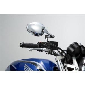 バイク用品 | タナックス(TANAX) リュートミラー (メッキ) 10mm正ネジ 左右共通|arinkurin