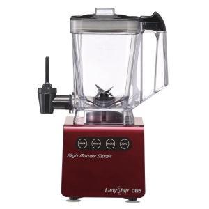 キッチン家電 | ハイパワーミキサー (レッド) コンパクト 350Wハイパワー ワンタッチコック付き FJM086R|arinkurin