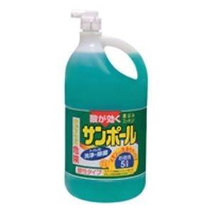 トイレ洗剤   大日本除蟲菊 サンポール 業務用 5L(×20) arinkurin