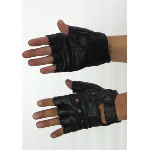 手袋   ドライビングレザーグローブ GF005NN ブラック Mサイズ arinkurin