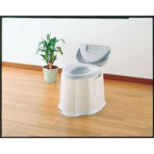 トイレ用品   アロン化成 樹脂製ポータブルトイレ 安寿ポータブルトイレ GX 533093