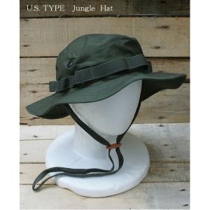 レディース帽子 | USタイプ ジャングルハット HH001NN オリーブ Lサイズ (レプリカ)|arinkurin