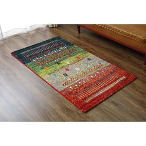 ラグマット | トルコ製 ウィルトン織り カーペット 絨毯 『マリア RUG』 グリーン 約80×140cm