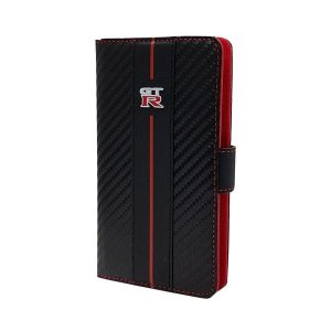 スマホケース | エアージェイ GTR Universal Book Type Case for Smartphone Leather S Size NRSAM1BK|arinkurin
