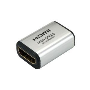 (まとめ)HORIC HDMI中継アダプタ シルバー HDMIFHDMIF(×10) arinkurin