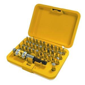 TRAD 電動ビットセット/作業工具 (36個入り) コンパクト アルミ軽量ケース LT36 (DIY用品 工作 趣味)|arinkurin