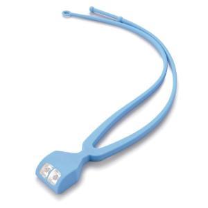 ハンディライト | 手ぶライト/LEDライト (ブルー) LED2灯使用 ストラップ:2段階長さ調節可 (ウォーキング ペットの散歩 夜間作業 夜釣り)|arinkurin