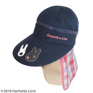 その他レディース帽子 レディース帽子 帽子 キャップ ハット リサとガスパール 3Wayつば広帽子 ...