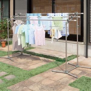 日用雑貨 | 屋外物干しスタンド洗濯物干し台 スタンド単品 (軽量) 高さ118〜150cm 大空|arinkurin